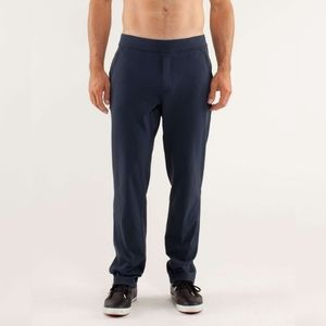 Lululemon Mens Trainer Pants Size Medium Navy Blue